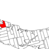 Map Of Prince Edward Island Highlighting Lot 18