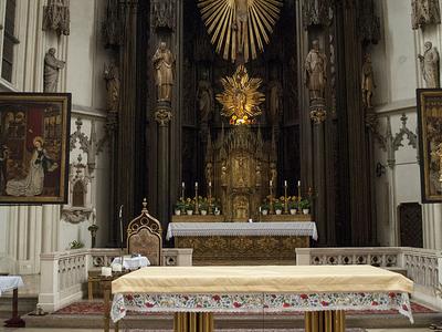 Maria Am Gestade Altar
