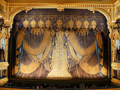 The Stage Of The Mariinsky Theatre