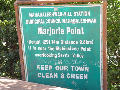 Marjorie Point - Mahabaleshwar - Maharashtra - India