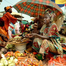 Market In Senegal