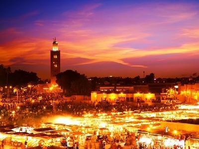 Marrakech Skyline