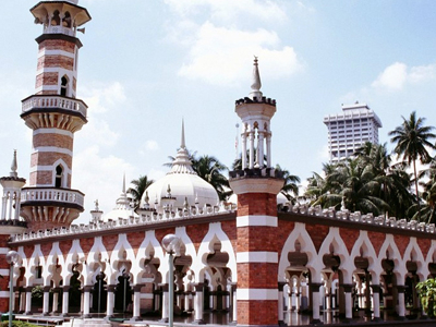 Masjid Jamek - View