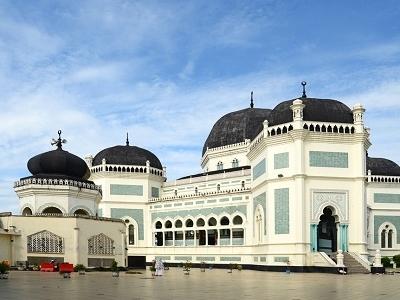 Masjid Raya In Medan - Indonesia