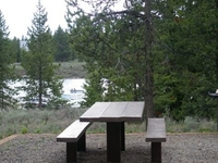 Targhee McCrea Bridge Campground