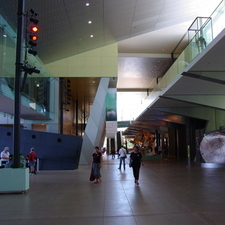 Melbourne Museum Hall