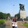 Merdeka Square Flag Statue