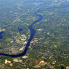 Merrimack River Aerial Haverhill Newburyport