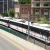 Metro Link Passing Clayton