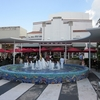 Miami Beach Lincoln Mall Colon Fountain FL