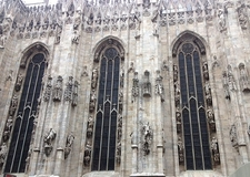 Milan Cathedral Exterior Details
