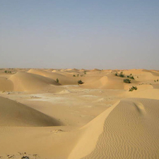 The Desert North Of Nouakchott