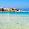 Mondello Port & Beach In Sicily Italy