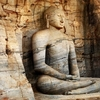 Monolith Buddha Statue In Polonnaruwa
