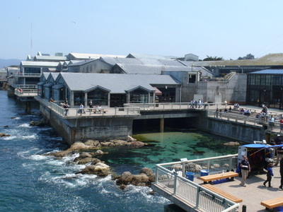 Monterey Bay Aquarium Sideview