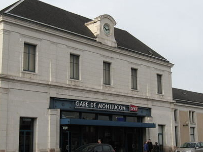 Montlucon Ville Railway Station