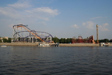 Moscow Gorky Park View Frunzenskaya