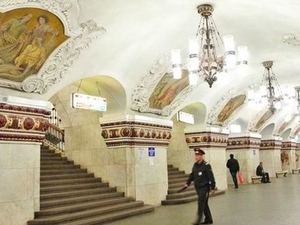 Moscow Metro Tour - The Most Beautiful Subway in the World Photos