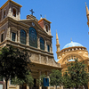 Mosque And Church In Beirut