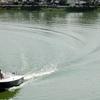 Motorboat Kankaria Lake