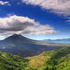 Mount Batur And Lake