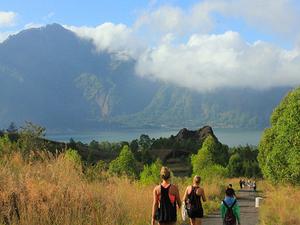 Mount Batur Sunrise Trekking And Around All The Crater Photos