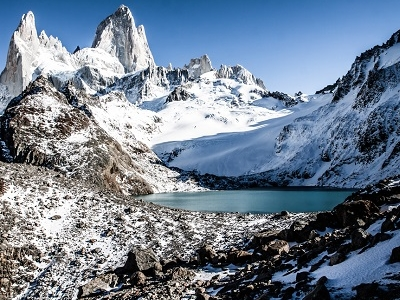 Mount Fitz Roy In Los Glaciares National Park