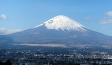 Mount Fuji Over Gotenba In Japan