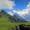 Mount Jungfrau Seen From Männlichen