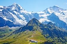 Mount Jungfrau - Swiss Alps