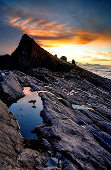 Mount Kinabalu Near Low's Peak