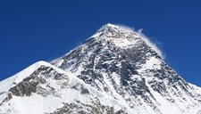 Mt. Everest Peak View From Nepal