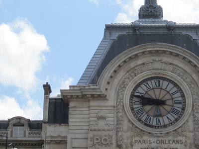 Main Façade Of The Musée D'Orsay