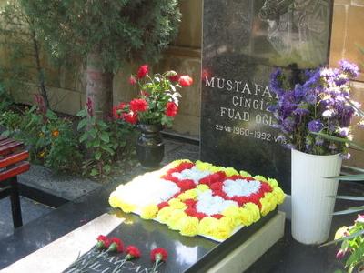 Mustafayev Chingiz Grave