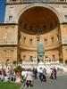Muzea Watykanskie Dziedziniec