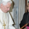 Mar Mathew Arackal With Pope