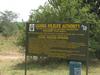 The Entrance Sign To Lake Mburo National Park