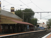 Moonee Ponds Railway Station