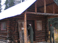 Moose Creek Ranger Cabin No. 19