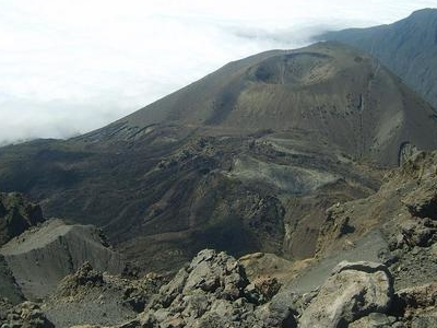 Mount Meru's Ash Cone