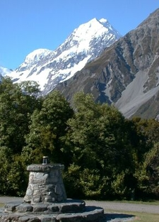 The Standard Tourist View Of Aoraki / Mount Cook