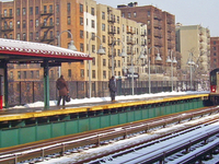 Mount Eden Avenue IRT Jerome Avenue Line Station