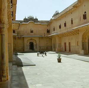 Nahargarh Fort Compound