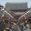 Pilgrims And Tourists Flocking To Sensō-ji