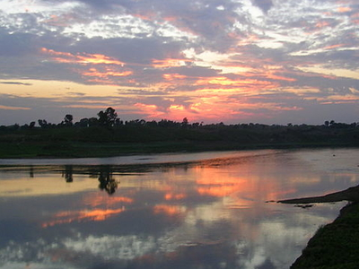 Narmada River Bank Near Jabalpur