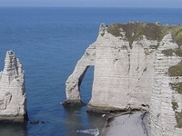 Etretat the Cliffs