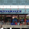 Navy Pier As Seen From A Sight Seeing Boat