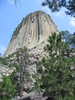 Near The Base Of Devils Tower