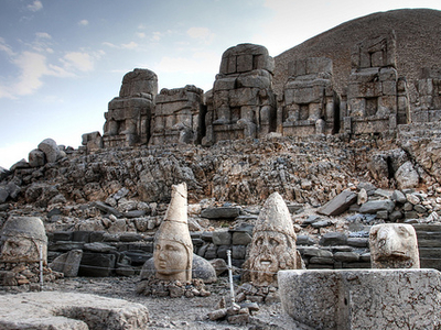 Nemrut Dag Temple View