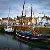 Neuk Of Fife Harbor - Scotland
